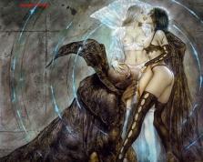 Luis Royo - Vampire & 2 Sexy Girls