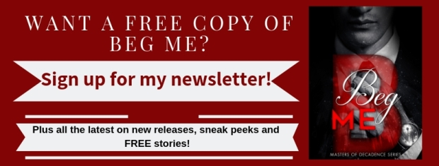 get a free copy of beg me (2)